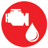 Stationary Engine Oil Icon