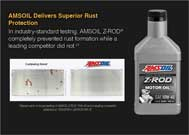 AMSOIL delivers superior rust protection.