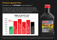 Signature Series protects against rust.