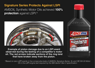 Signature Series protects against LSPI.