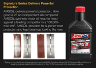 Signature Series delivers powerful protection.