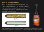 AMSOIL fights corrosion.