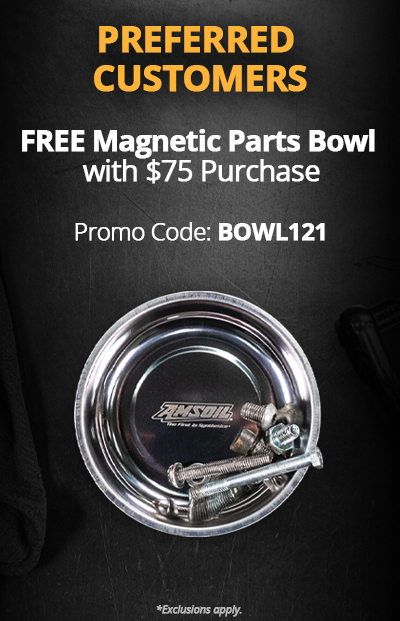 Free Magnetic Parts Bowl