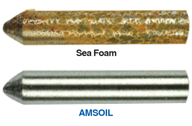 AMSOIL Gasoline Stabilizer provides corrosion protection Sea Foam Motor Treatment can't match.