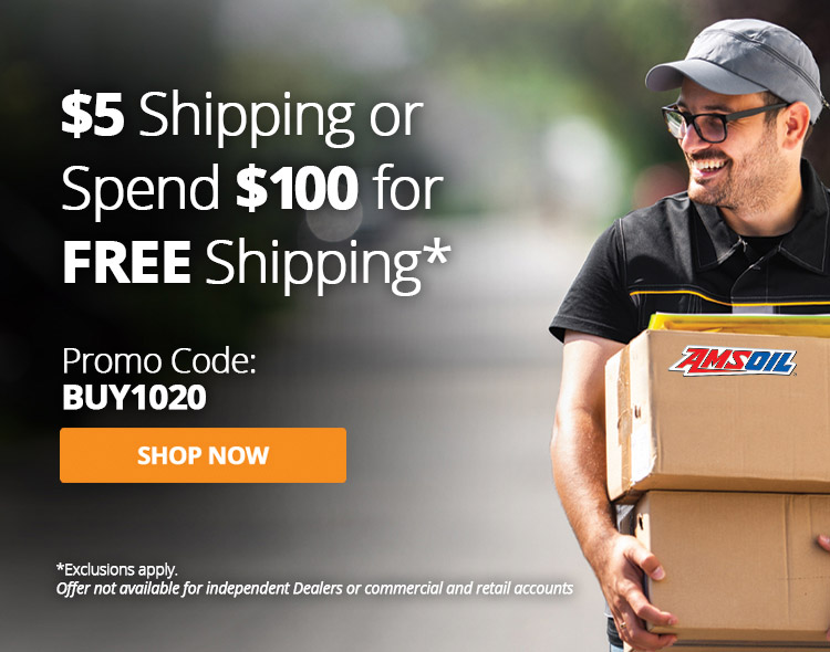 $5 Shipping or Spend $100 for Free Shipping