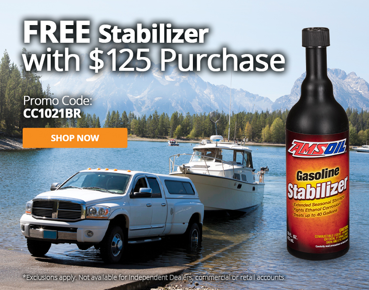 Free Stabilizer with $125 Purchase