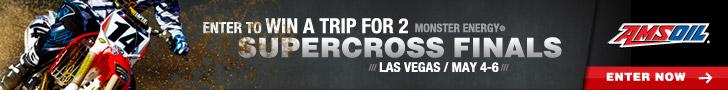 Vegas Supercross Contest Advertisement