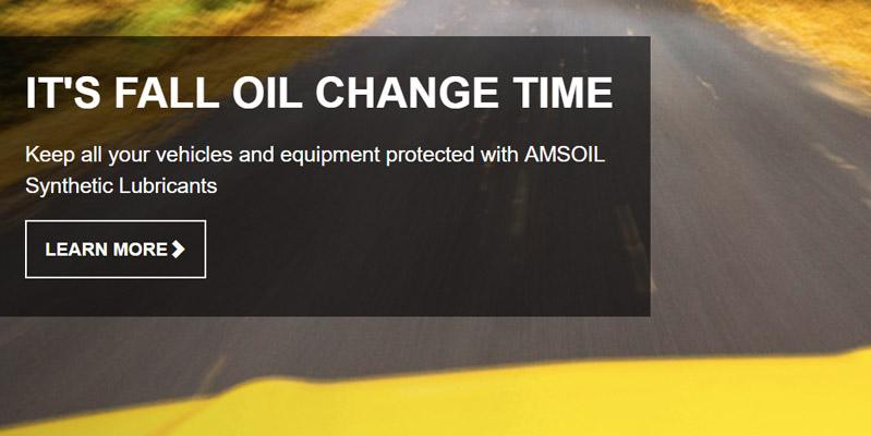 Fall Oil Change