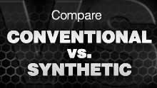 Compare Conventional vs. Synthetic