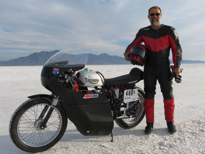 Record-Setting Motorcycles Rely on AMSOIL