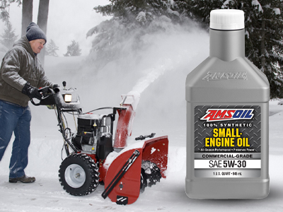 New 5W-30 Synthetic Small-Engine Oil