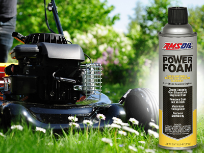 How to Use AMSOIL Power Foam