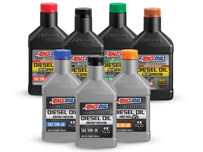 New AMSOIL Synthetic Diesel Oils
