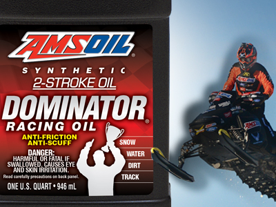 AMSOIL Synthetic 2-Stroke Dominator Racing Oil
