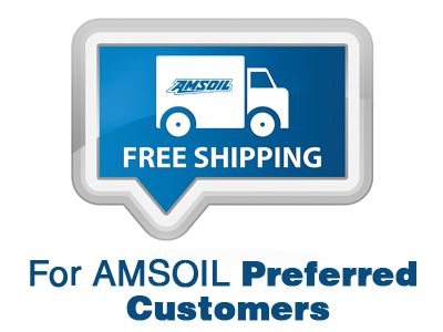 AMSOIL Preferred Customers Now Get Free Shipping