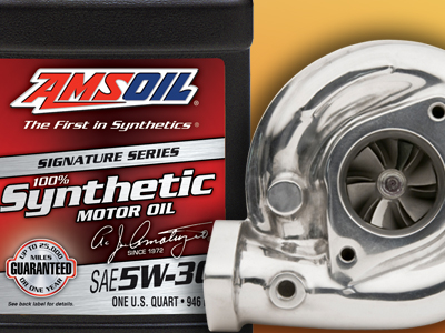Turbochargers Create Conditions for AMSOIL Synthetic Motor Oil