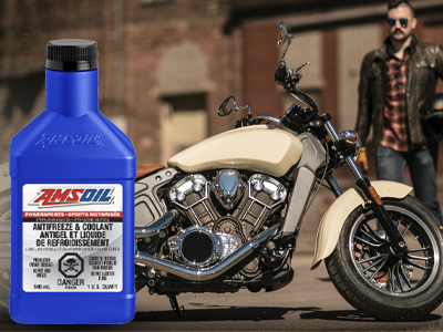 New AMSOIL Powersports Antifreeze & Coolant