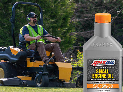 New 15W-50 Small-Engine Oil