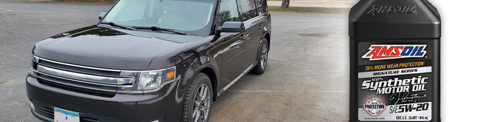 Pristine Ford Flex Tops 350,000 Miles With AMSOIL