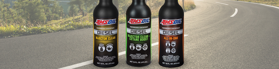 AMSOIL Diesel Fuel Additives Best Choice for Increased Fuel Lubricity