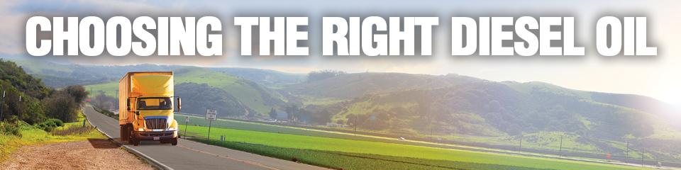 Choosing the Right Diesel Oil