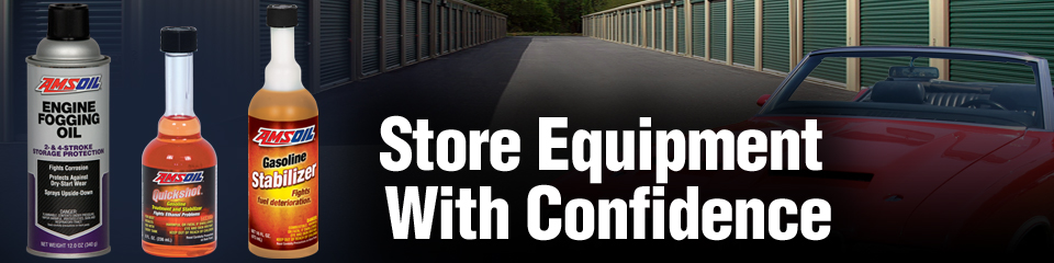 Store equipment with confidence