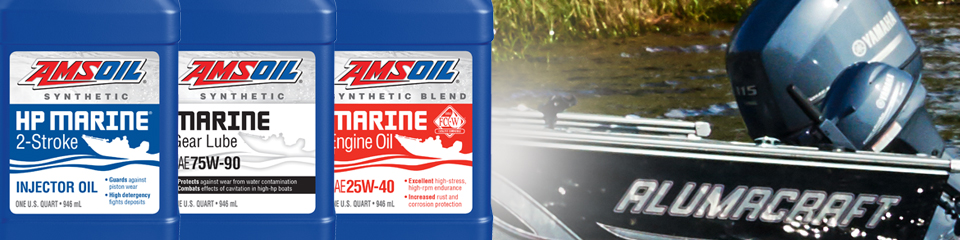 AMSOIL Synthetic Marine Lubricants