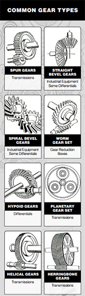 Common Gear Types